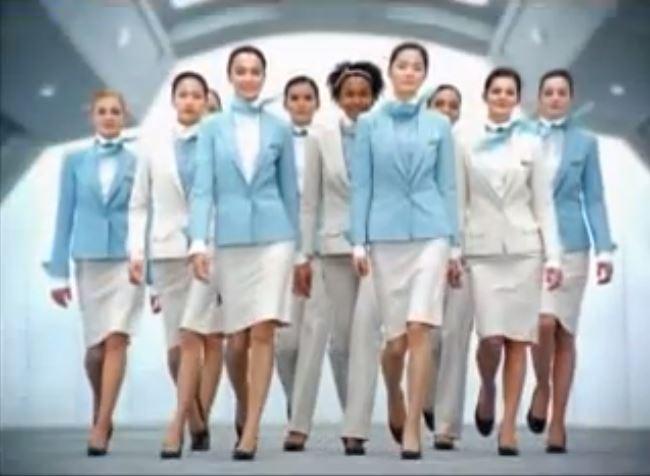 Korean Airline Uniform 32