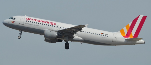 Germanwings A320 (D-AIPX) involved in the crash of flight 4U9525 on March 24, 2015 (Source: Sébastien Mortier, Flickr)